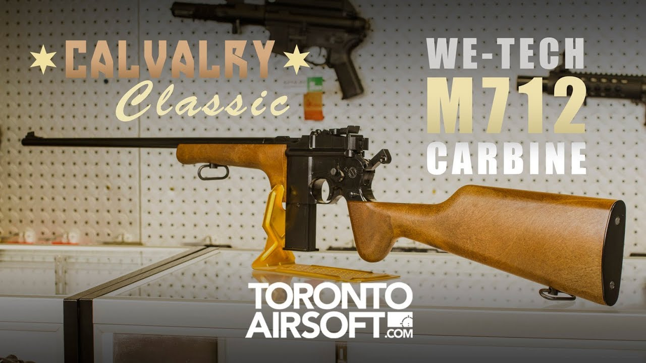 WE-Tech Full Metal WE712 Carbine Review - TorontoAirsoft com