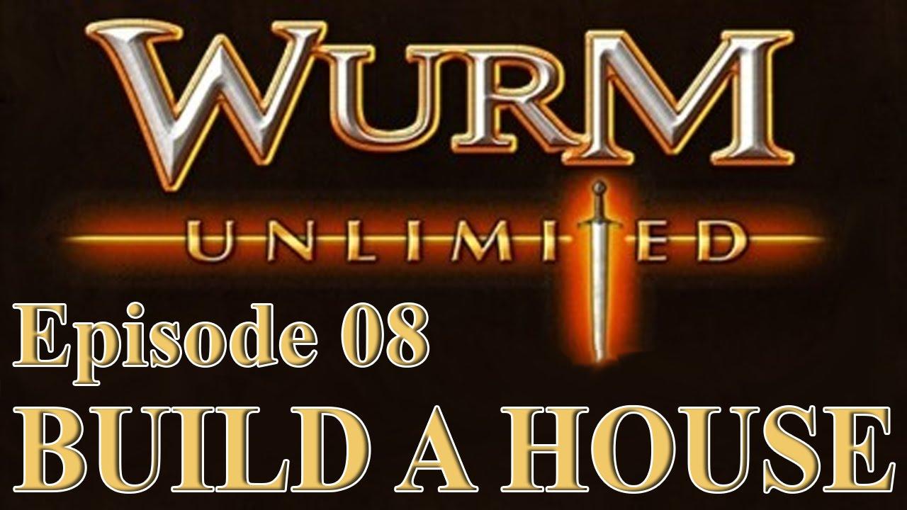 wurm unlimited wurm online tutorial build a house youtube