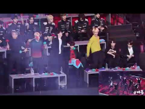 190106 BTS Reaction To BIGBANG 'Bang Bang Bang' Cover 빅뱅 커버무대 보는 방탄소년단 4K 직캠