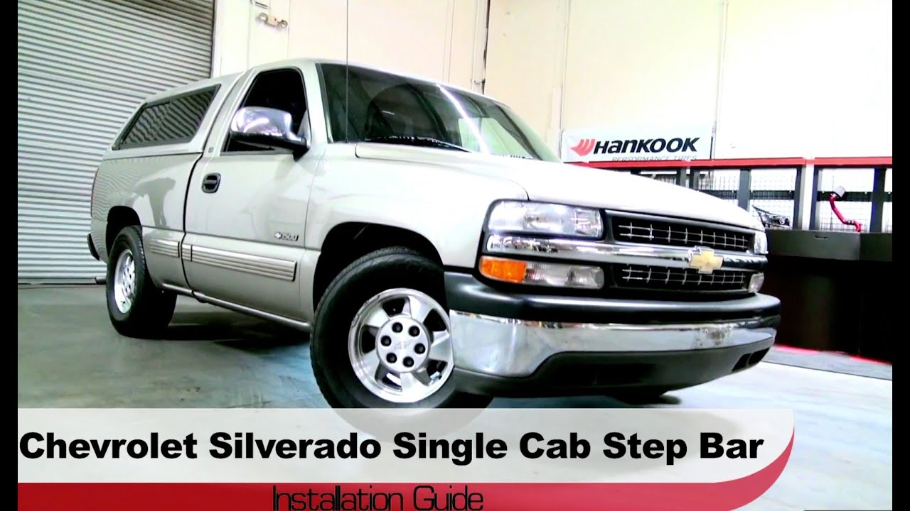 1999 2013 Chevrolet And Gmc Truck 2000 2013 Lmc Truck >> Spyder Auto Installation 1999 2013 Chevrolet Silverado Gmc Sierra Single Cab Step Bars