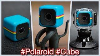 Trên tay camera hành trình Polaroid Cube và các phụ kiện