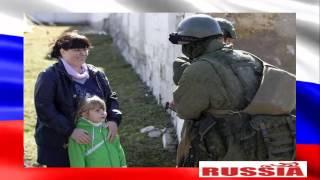 """Вежливые люди - """"зеленые человечики"""" в Крыму"""