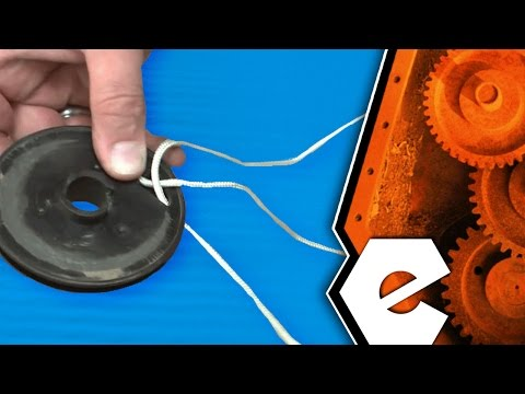 how to change a pull cord string