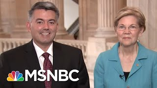 Bipartisan Senate Pair Team Up On Marijuana Bill | Morning Joe | MSNBC