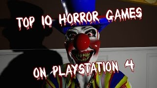 Top 10 Horror Games On Ps4