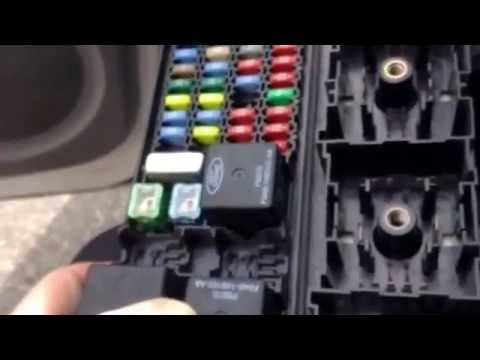 2001 ford escape fuse relay box 2004 ford mercury taurus gem module location youtube #11