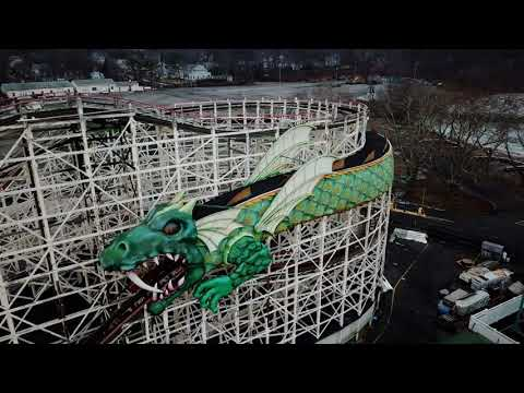 Rye Playland by Drone
