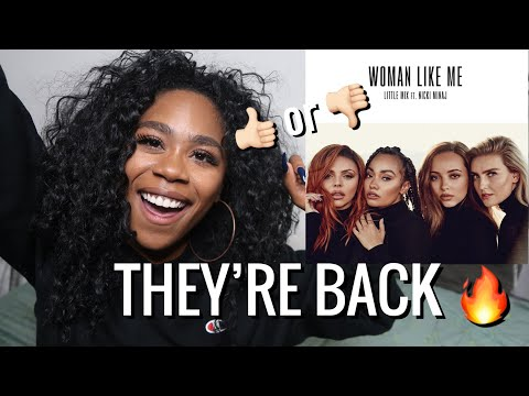 LITTLE MIX FT. NICKI MINAJ - WOMAN LIKE ME (OFFICIAL AUDIO) REACTION | REVIEW