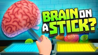 BRAIN ON A STICK?! - Rick and Morty: Virtual Rick-ality VR - VR HTC Vive Pro Gameplay