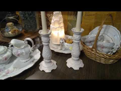 White Porcelain And Pink Roses~ Miladyleela