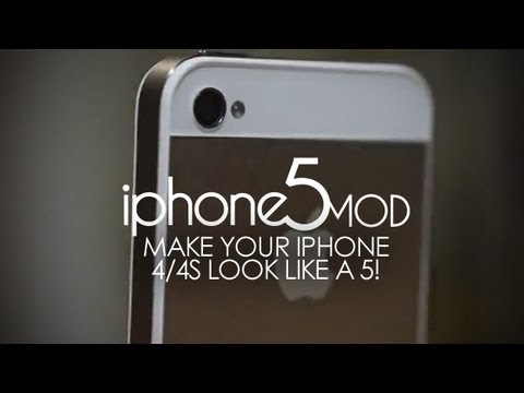 Iphone5mod Make Your Iphone 4 4s To Look Like The Iphone