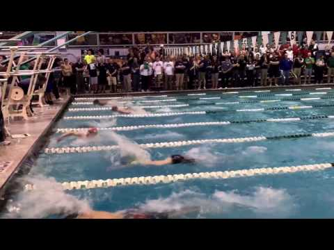 100 fly top heat @IHSA State 49.18
