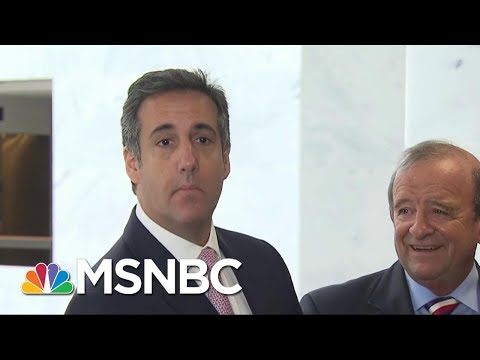 Senate Cancels Meeting With Donald Trump Attorney Michael Cohen | MSNBC