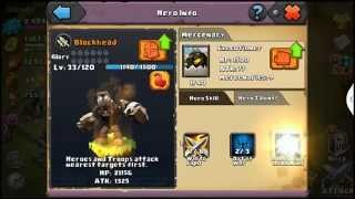 Clash of lords 2 Demon slayer Blockhead and rolled another Pan Goli