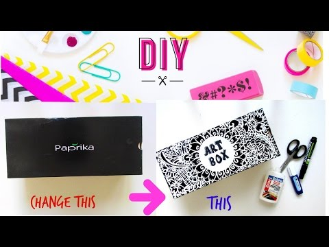 DIY ART SUPPLY -STORAGE BOX / ORGANISER