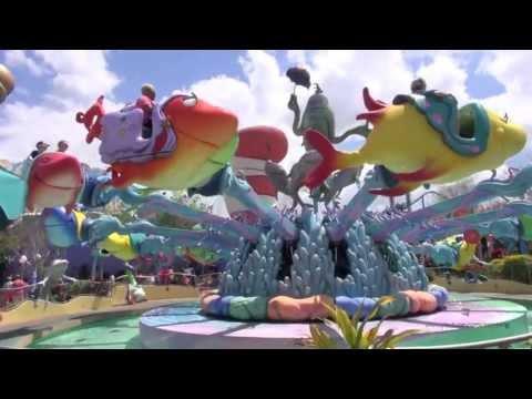 One Fish Two Fish Red Fish Blue Fish - Full Ride POV - Islands of Adventure - Universal Orlando