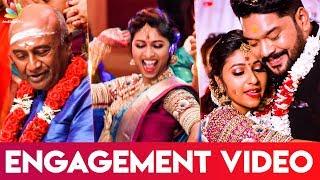 VIDEO: MS Baskar dances at Daughter Ishwarya's Engagement Function   Celebrity Wedding