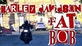 ТОЧКА ОТСЧЕТА: Harley Davidson Fat Bob #МОТОЗОНА №55