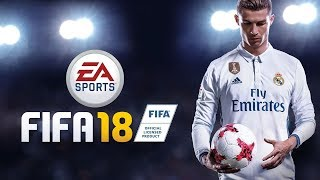 FIFA18 PS3 первое включение. матч Реал - Барселона.