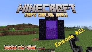 Minecraft Survival - Nether Portal, Enchantment Table, & Desert Temple [21]
