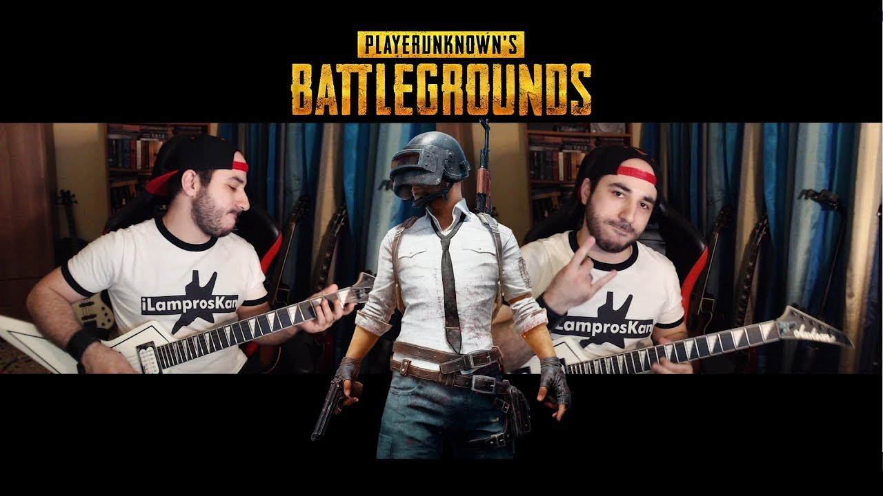 PUBG Theme Metal Cover (Playerunknown's Battlegrounds