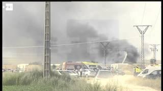 Al menos cinco muertos y seis heridos en una explosión en una pirotecnia de Zaragoza
