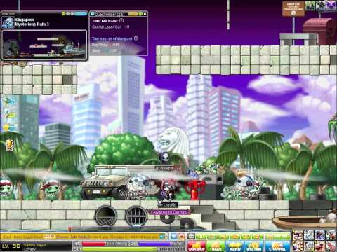 MapleStory Demon Slayer Lvl 9x at MP3 (Singapore)
