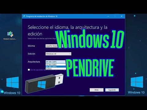 Cómo Descargar Windows 10 A Un Pendrive Gratis | Crear Copia De Windows 10 ISO En Una Memoria USB