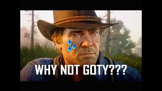Why Did Red Dead Redemption 2 Not Win Game of the Year???