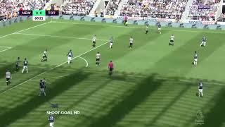 اهداف مباراة توتنهام و نيو كاسل يونايتد 0/2 الدوري الانجليزي 2017