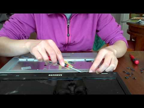 Notebook Samsung R40 öffnen/zerlegen (disassemble R40 laptop)
