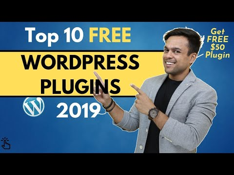 Top 10 FREE Best WORDPRESS Plugins for your site (2019) thumbnail