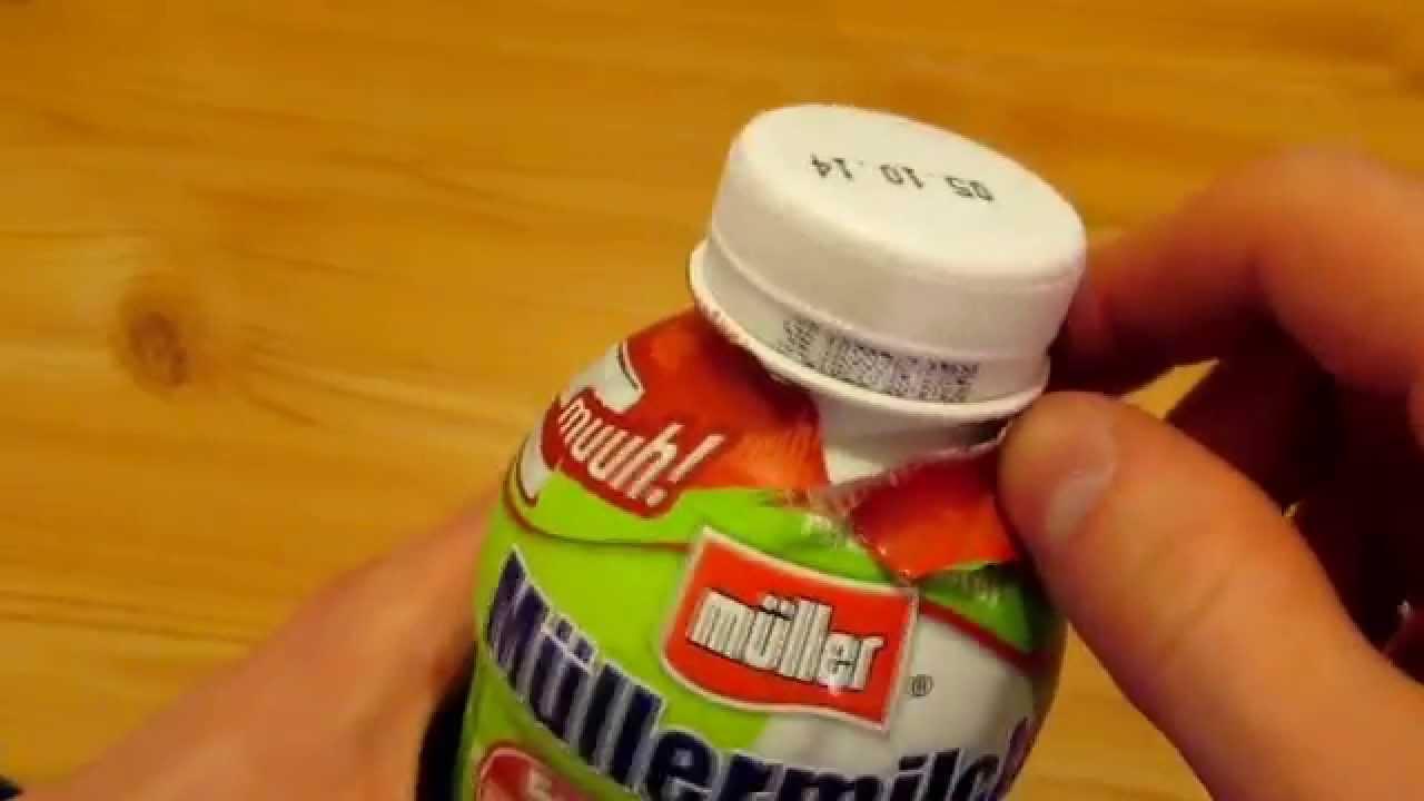 MГјller Milch Muh Deckel