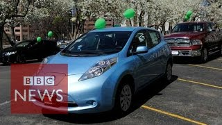Auto giant Nissan's electric bet - BBC News