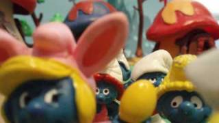 Happy easter with the smurfs!!!