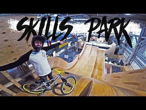Endlich wieder Skillspark Winterthur! Indoor Bike Paradies in der Schweiz | Fabio Schäfer Vlog #120