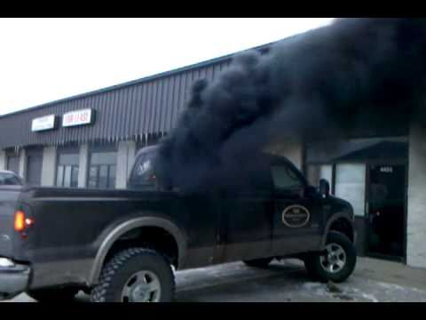 Best Ford Diesel Engine >> Ford blowing smoke 2 - YouTube