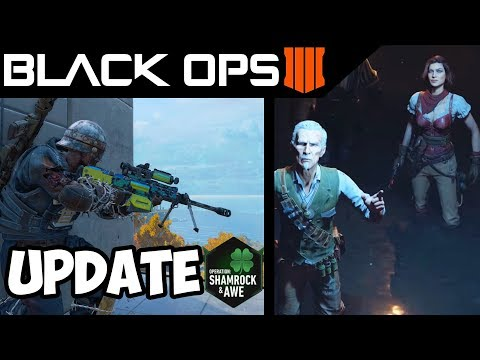 Black Ops 4 Update What To Expect - Call of Duty BO4 Operation Shamrock & Awe thumbnail