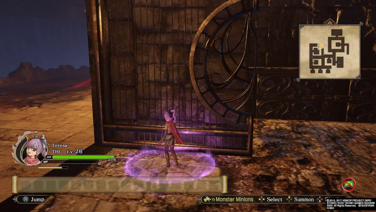 Dragon Quest Heroes 2 Theif key stage solution - YouTube