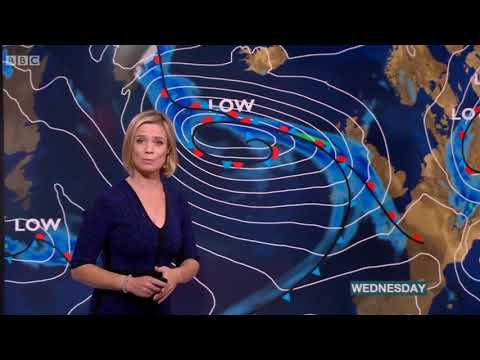 Sarah Keith Lucas BBC News at One Weather July 25th 2017