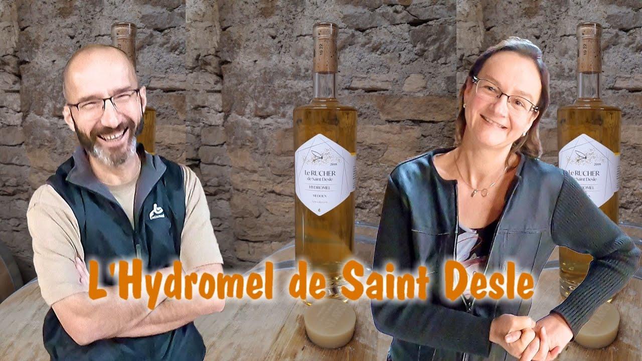 L'hydromel vu par le Rucher de Saint Desle
