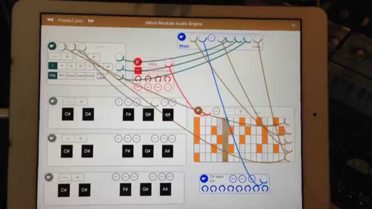 Preview Ipad Control Modular Synth Youtube