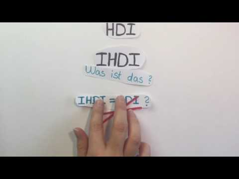 HDI und IHDI einfach erklärt