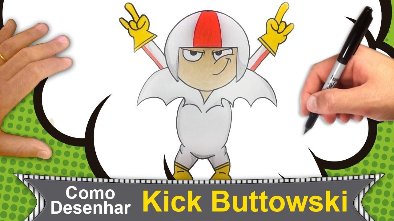 Kick Buttowski Desenho Da Disney Xd Em Portugues Como Desenhar