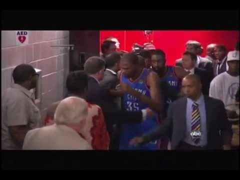 Kevin Durant Crying 2012 NBA Finals Elimination