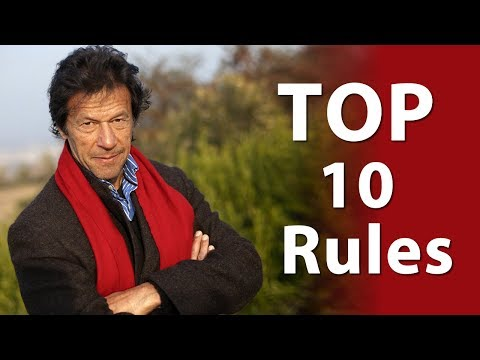 Imran Khan's Top Ten Rules for Success, Imran Khan Latest speech | Zaina Jawad Motivational Speaker