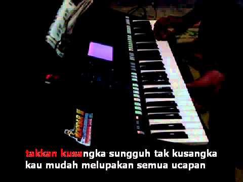 Takkan Lagi Noer Halimah Karaoke Yamaha PSR S750