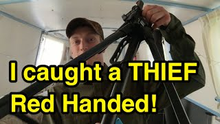 I Caught Someone Stealing My Camera & Tripod!
