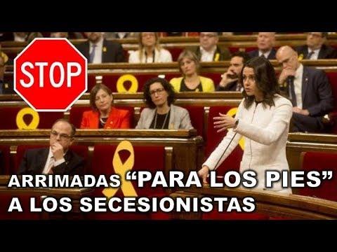 "¡¡CON UN PAR!! INES ARRIMADAS DENUNCIA que ERNEST MARAGALL ha hecho ""UN MITIN DE ERC"" thumbnail"