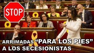 "¡¡CON UN PAR!! INES ARRIMADAS DENUNCIA que ERNEST MARAGALL ha hecho ""UN MITIN DE ERC"""